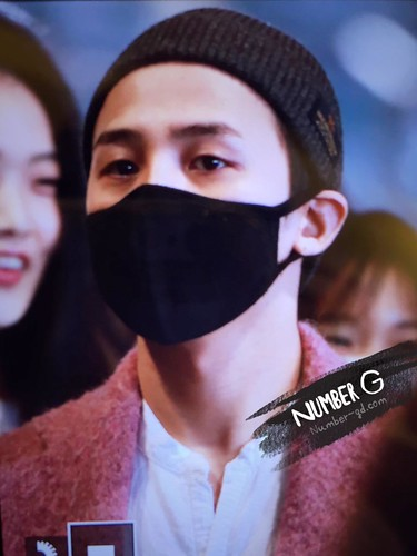 Big Bang - Incheon Airport - 22mar2015 - G-Dragon - Number G - 01