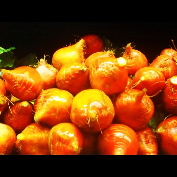 Golden beets at Whole Foods with @jordanlangdon
