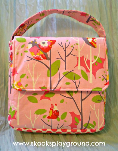 Pink Owl Lunchbox