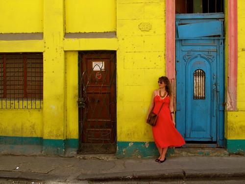 Brenna Holeman in Havana, Cuba