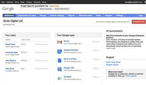 Google Apps a-go-go