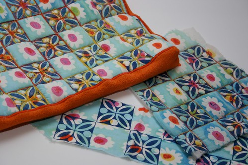 Sewing Crafts - Make a laptop case - with block printing