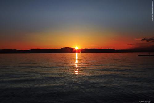 sunset sea sun canon meer sonnenuntergang croatia iland insel sonne krk kroatien istrien wasserwater flickraward peterfoto eos550d peterpirker