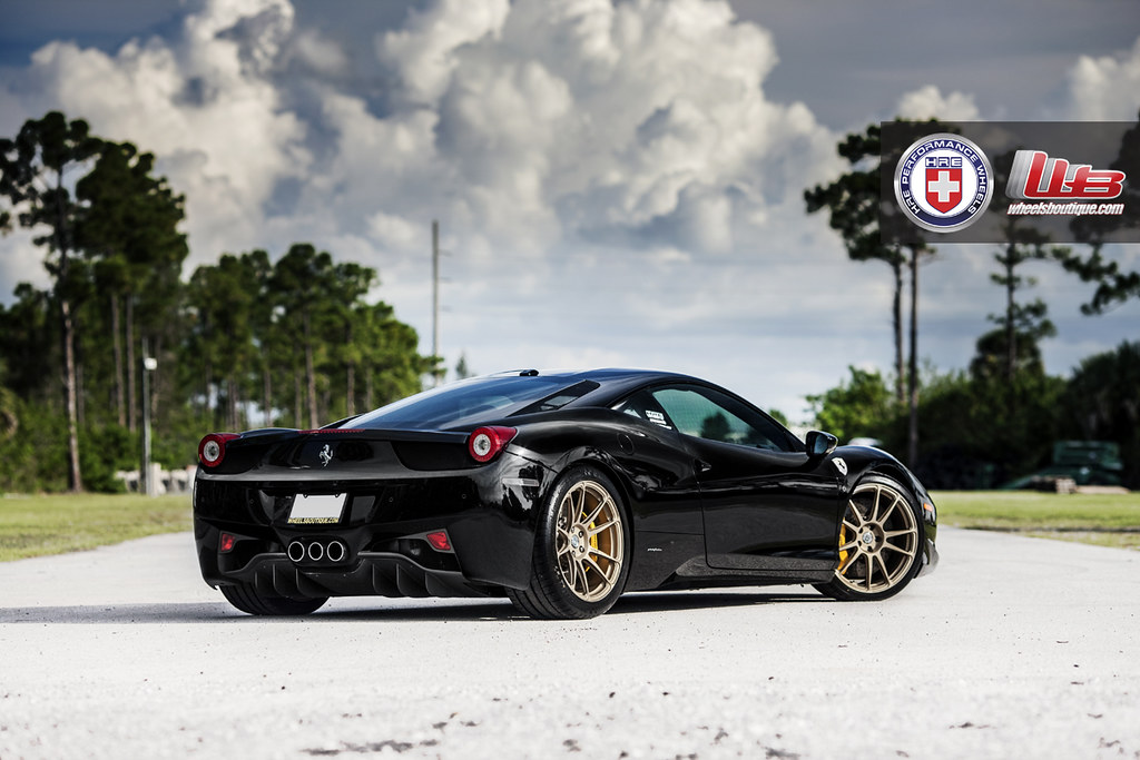 Keep It Classy Miami Titanium On Black Ferrari 458 Italia With Hre