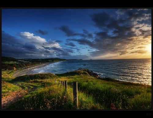 sunset france coast nikon brittany bretagne hdr topaz hff pabu photomatix d300s kemoauc