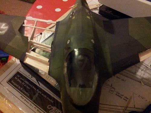 me163 wing repairs