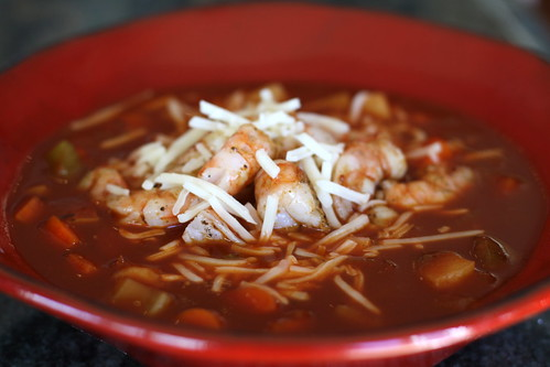 Enchilada Shrimp Soup
