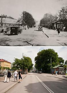 Gothenburg, Drottningtorget 1930 / 2012