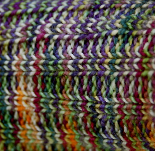 Scrap Sock of Wonder - close up