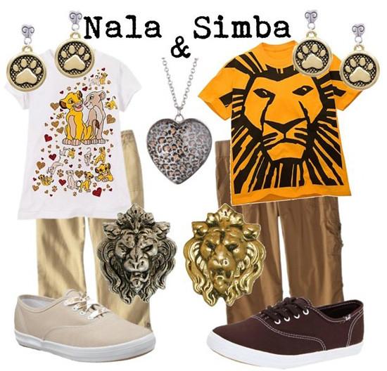 Simba & Nala (Lion King)