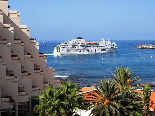 Ferry, Los Cristianos, Tenerife