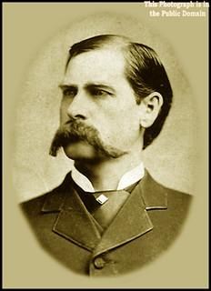 Wyatt Earp Portrait - Public Domain