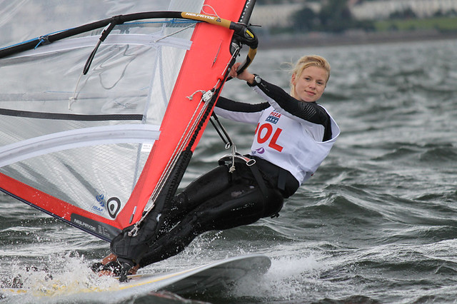 Day 1 - Natalia Kacpzik (POL) - RS:X Girls