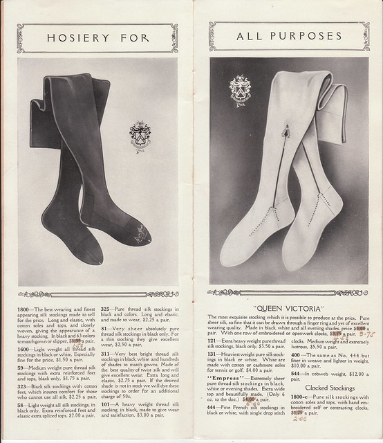 Exclusive Hosiery catalogue Peck & Peck