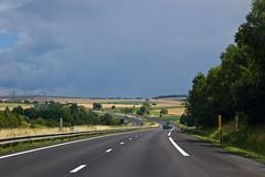 Sur l'autoroute A4 en direction de Strasbourg