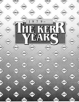 The Kerr Years