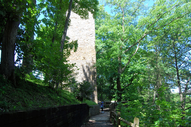 Shot Tower Historical State Park has nice scenery