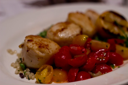 Seared Sea Scallops at The Capital Grille