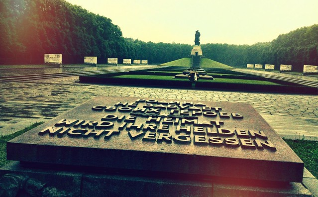 O Memorial Soviético do Treptower Park