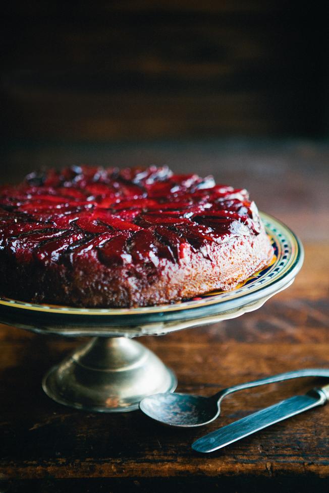 Upside down Plum Cake | Delicious & Easy Fall Recipes I Homemade Recipes | Cozy Dinner Ideas