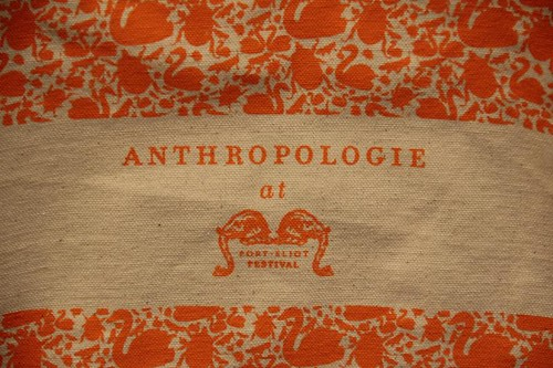 Port Eliot Festival July 2012 Anthropologie tent