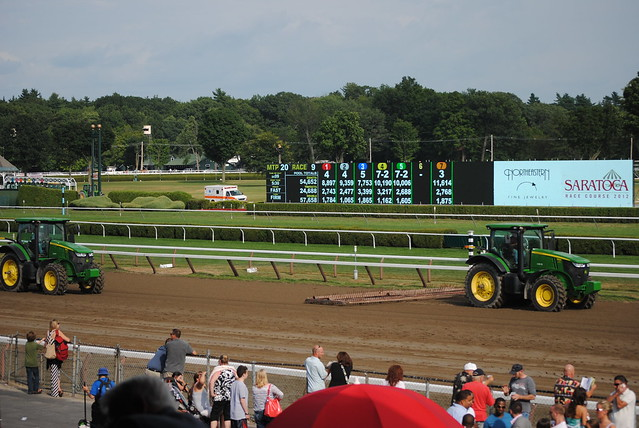 Opening Day at Saratoga Race Track 7/20/12