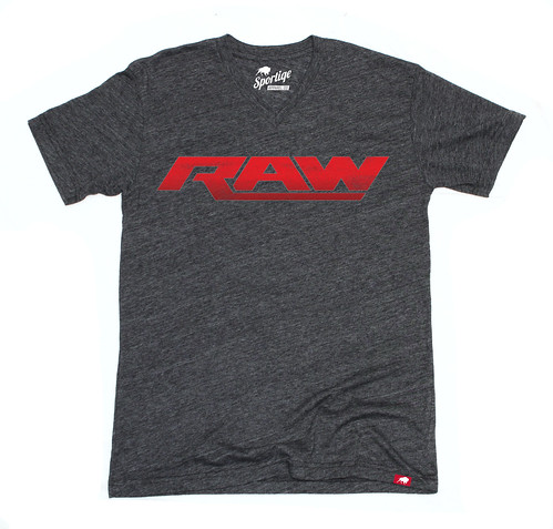 NEW LOGO WWE RAW T-SHIRT