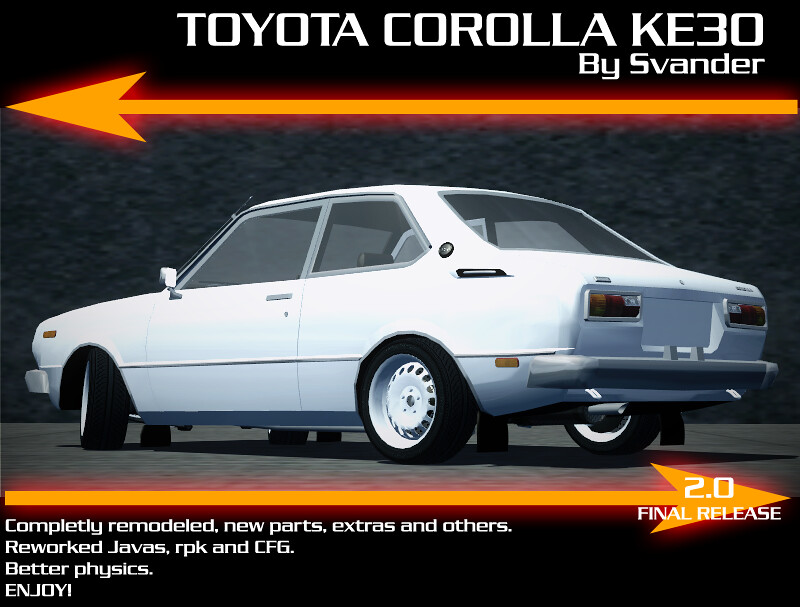 Virtual Stance Works - Toyota Corolla KE30 2.0 FINAL RELEASE