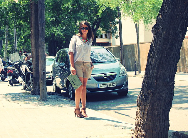 look shorts ante + gris