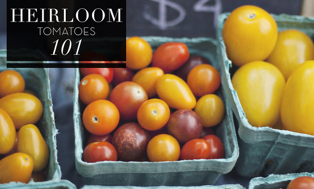 Morningside Farmers Market // FRESH 101 // HEIRLOOM TOMATOES
