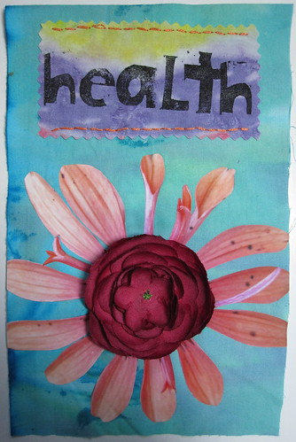 HEALTH prayer flag (for Joyce)
