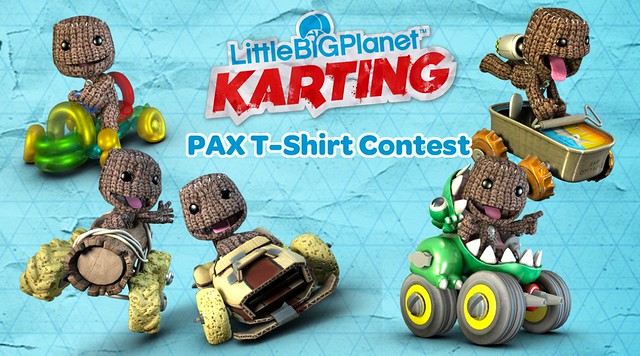 LittleBigPlanet Karting Shirt Design Contest