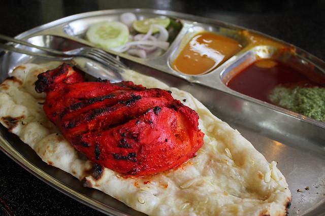 Tandoori Chicken Set, Restoran Kapitan