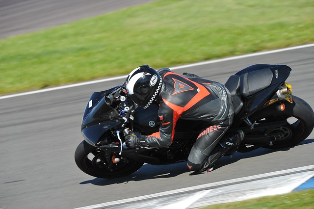 tucola at Donington on motorcycle