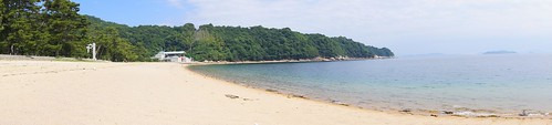 広島の 桂浜海水浴場 画像2