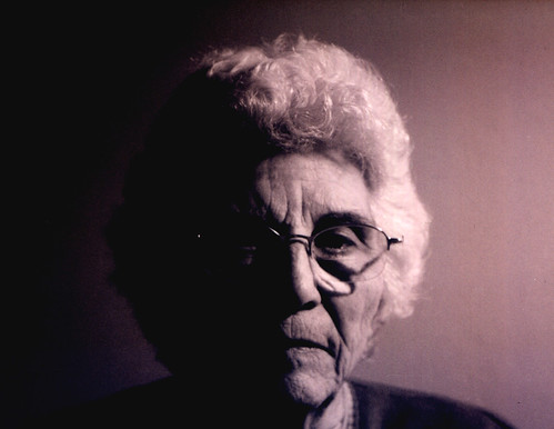 Retrato de mi abuela -  Cámara analógica