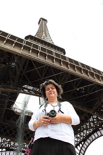 La Tour Eiffel et ma mère