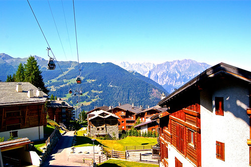 Verbier resort, Switzerland