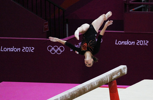 Women's Gymnastics - Dutch on Balance Beam