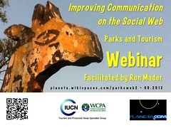 Parks and Tourism Webinar: Improving Communication on the Social Web (August 13-31) #rtyear2012