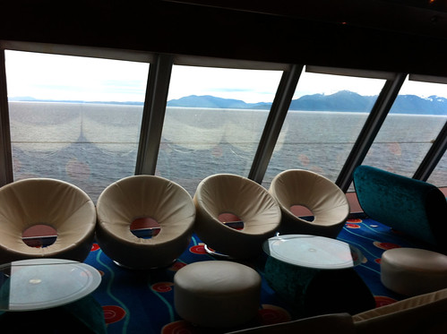 Norwegian Pearl - Spinnaker Lounge Seats