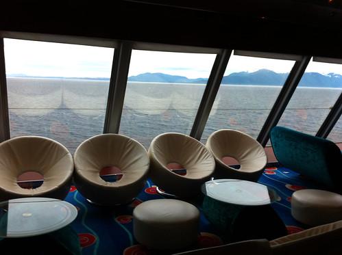 Norwegian Pearl - Spinnaker Lounge Seats