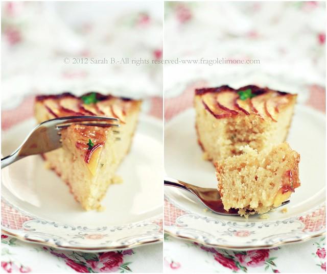 torta pesche Collageeditedtesto