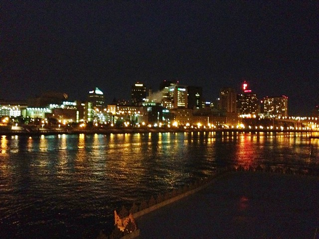 Memory of downtown St. Paul from the river