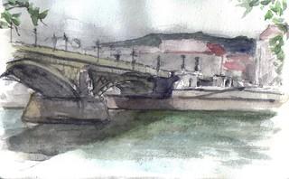 Budapest.Margit híd or Margaret Bridge