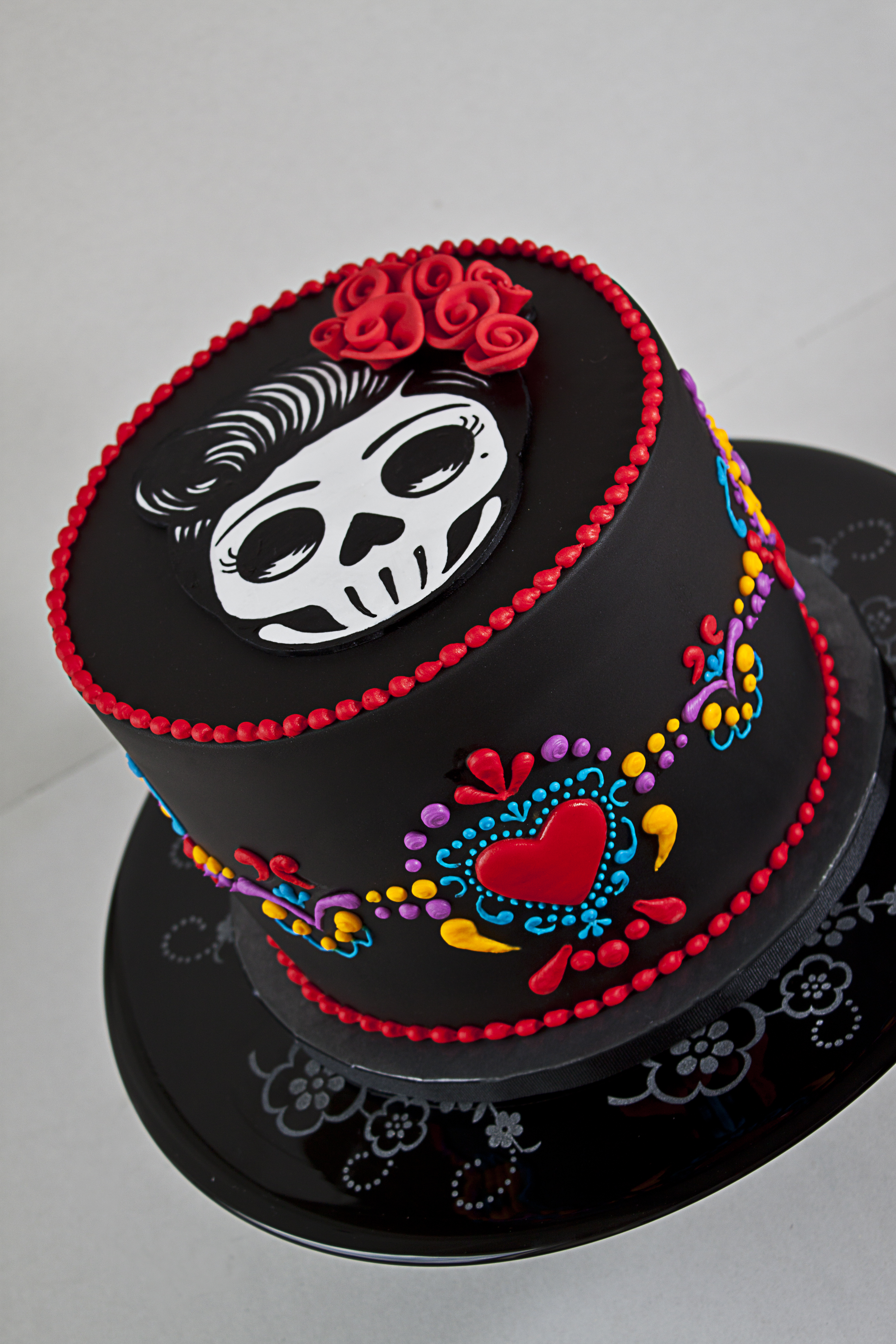Square Skull Birthday Cakes