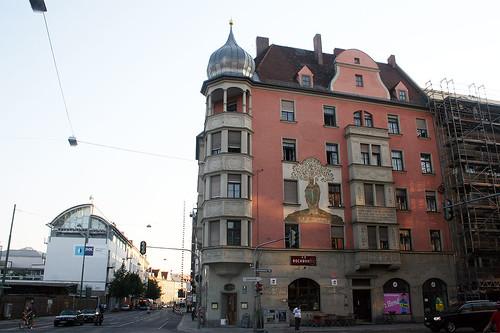 St. Wolfgang - Ecke Rosenheimer Straße, Orleansstraße