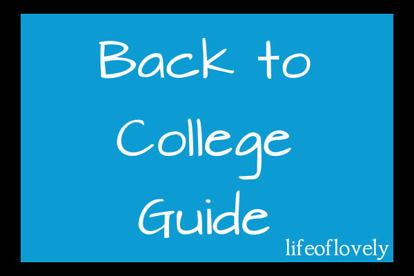 Back to College Guide