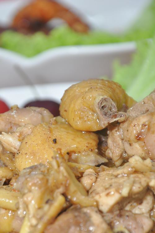 Stir Fried Chicken with Myammar Spice in Chinese Style
