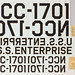Enterprise Decals from Original Production Days